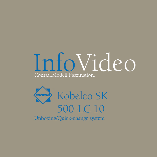 Video Kobelco Raupenbagger