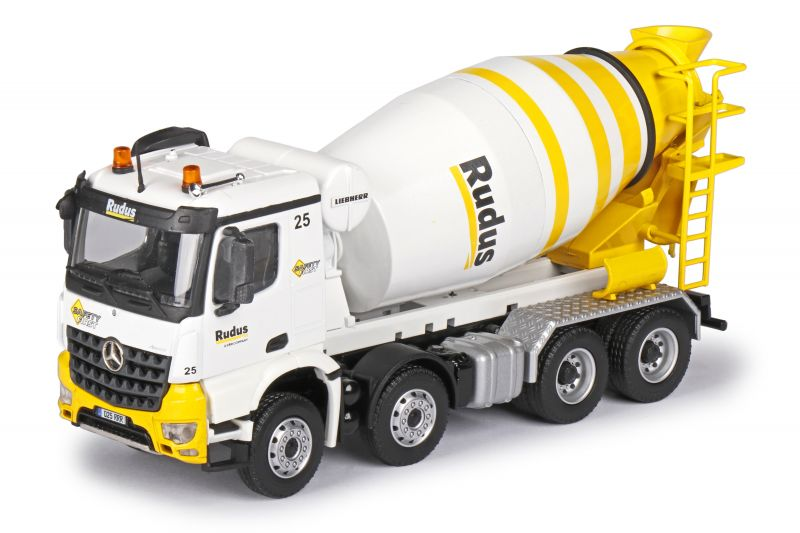 LIEBHERR HTM 904 Truck mixer on MERCEDES-BENZ Arocs 4-axle