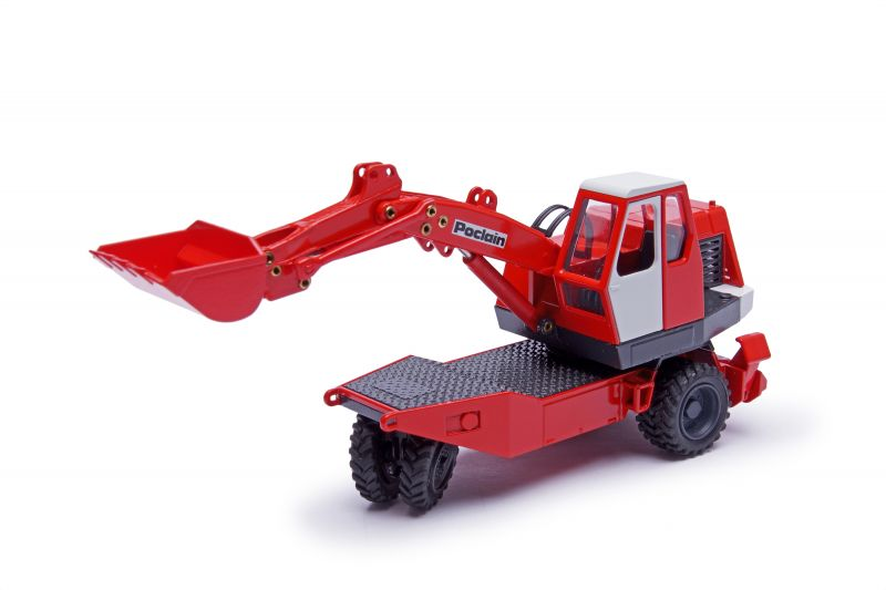 POCLAIN TY 45 Mobile excavator with bucket