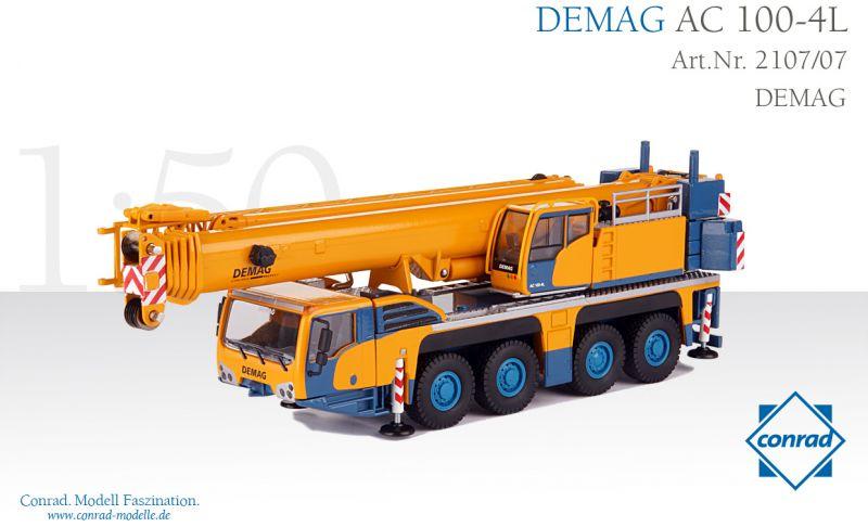 DEMAG AC 100-4L Telescopic crane