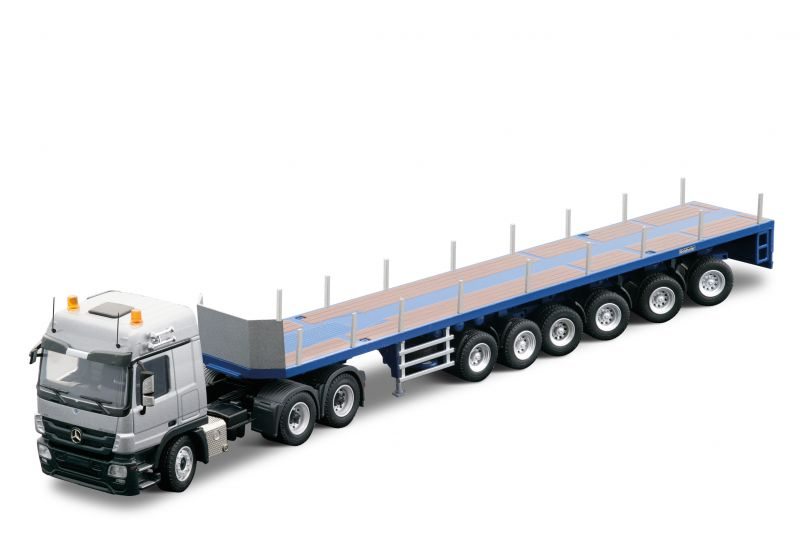 Mercedes-Benz Actros MP03 Truck-tractor 6x4 with GOLDHOFER heavy-duty semi-trailer DLZ6