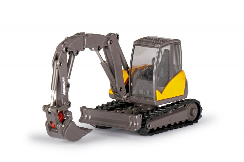 MECALAC 8MCR Crawler Excavator with backhoe dipper, shovel