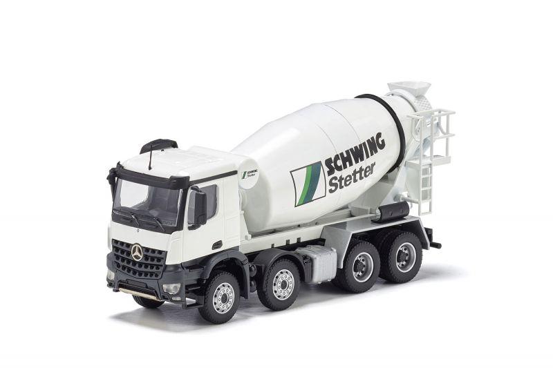 STETTER truck mixer on MERCEDES-BENZ Arocs