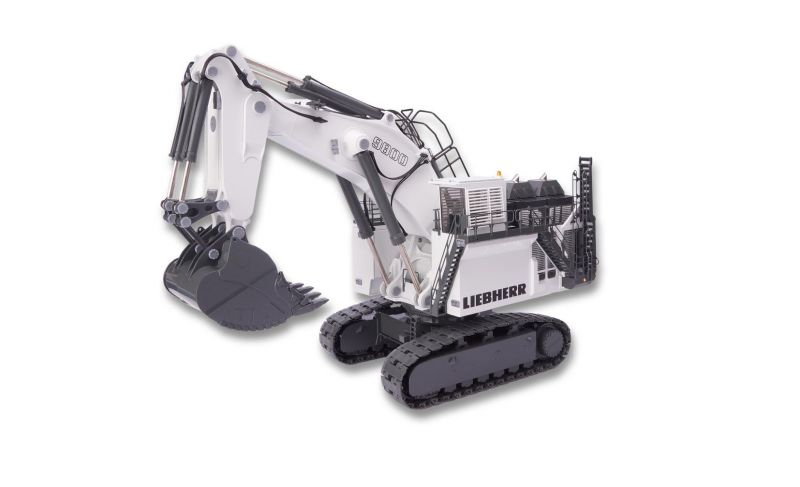 LIEBHERR R 9800 Mining excavator with bucket equipment