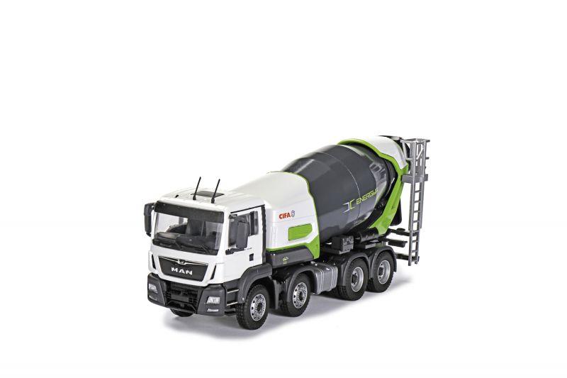 CIFA Energya E8-E9 Plug-in-Hybrid Truck mixer 4-axle on MAN TGS Euro 6