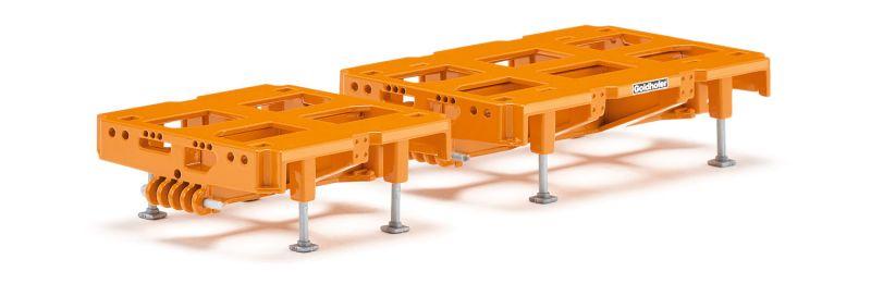 Hochbett 2-achs + 3-achs zur Kombination mit Modulen 98019/0