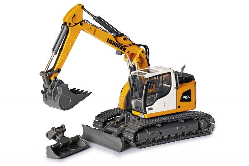 LIEBHERR R920 Compact Crawler excavator Crawler excavator with two piece boom