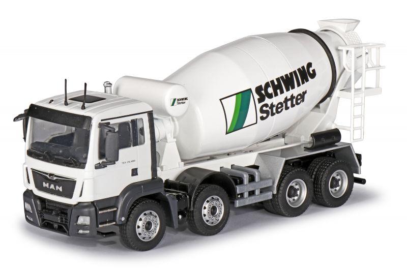STETTER Truck mixer C-Version on MAN TGS M