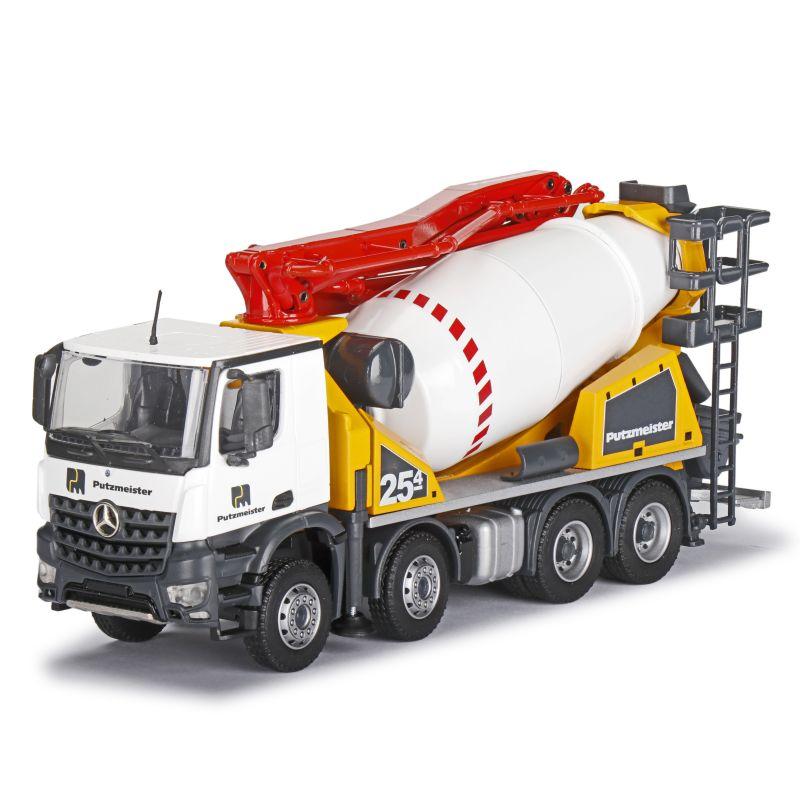 PUTZMEISTER PUMI 25-4 Concrete mixer on MERCEDES-BENZ Arocs 4-axle