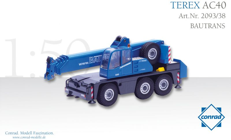 Terex AC 40-1 Teleskopkran