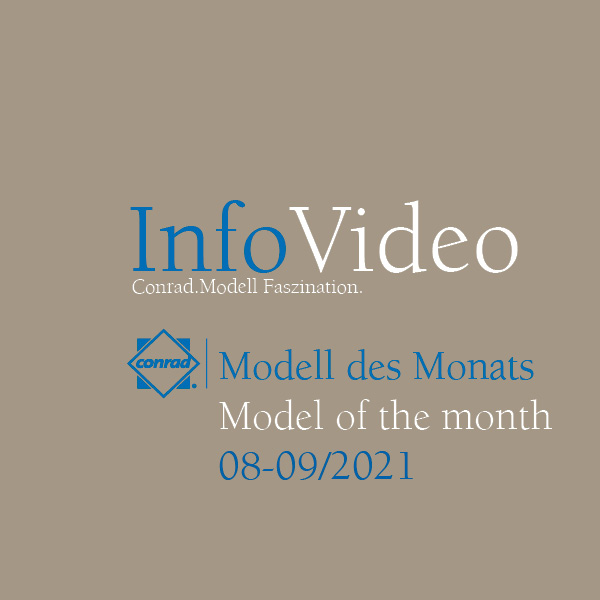 Video Model of the month August/September 2021