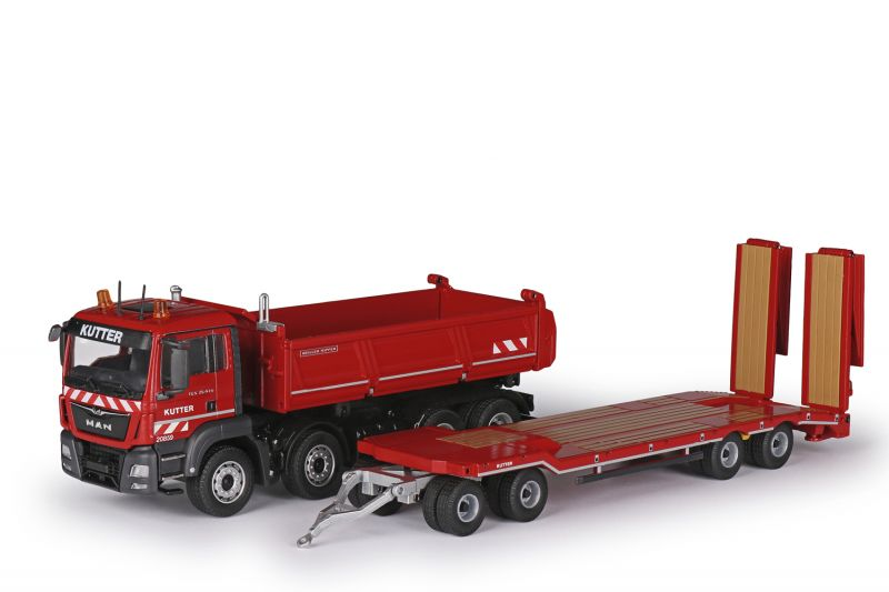 MEILLER Three-side tipper with MAN TGS M