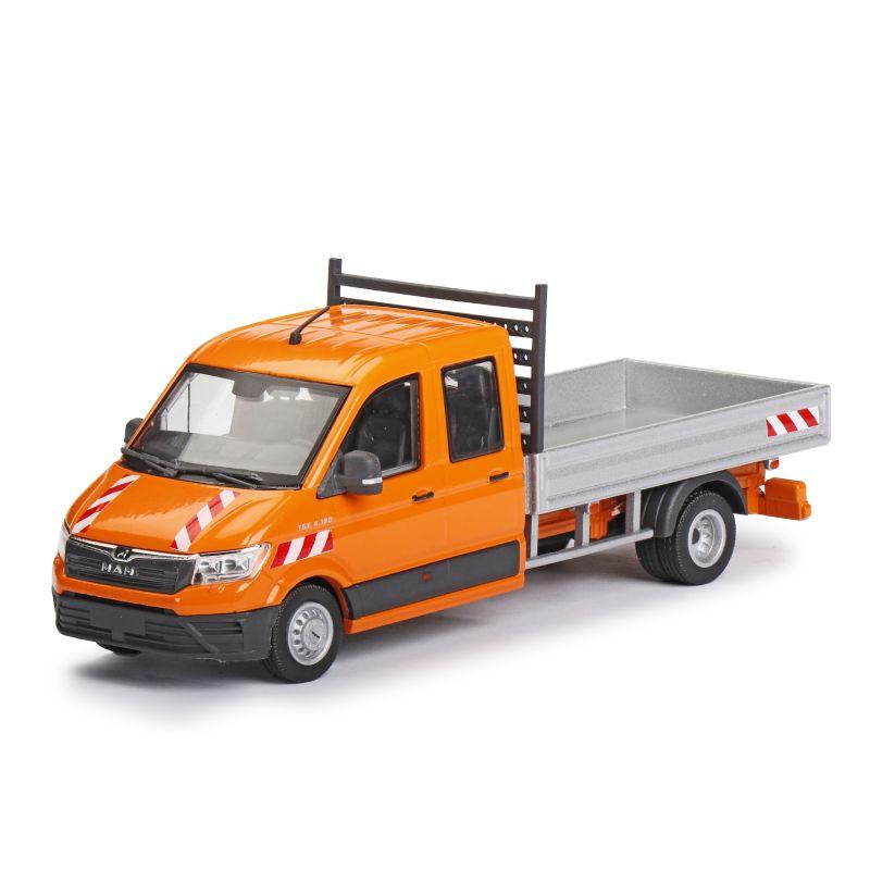 MAN TGE Platform truck