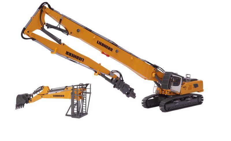 LIEBHERR R960 Demolition with demolition equipment (34m) incl. hoe type bucket, storage system