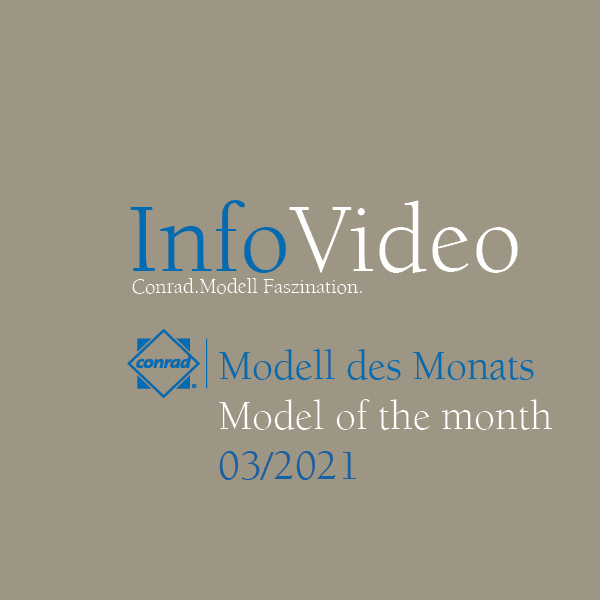 Video Modell of the month March 2021