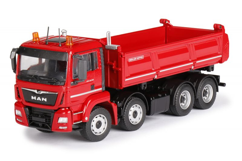 MEILLER Three-way-tipper on MAN TGS M Euro 6c 4-axle