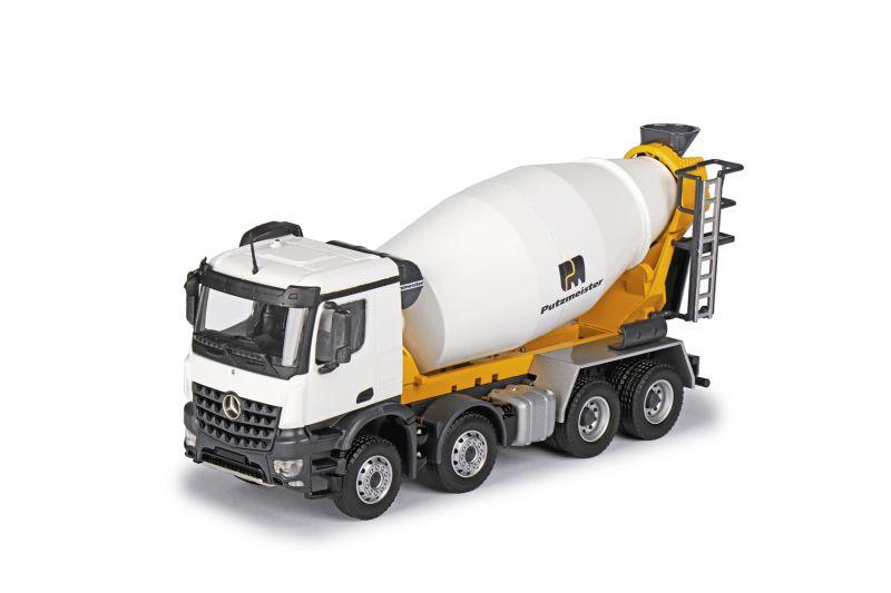 PUTZMEISTER P 9 Truck mixer on MERCEDES-BENZ Arocs 4-axle