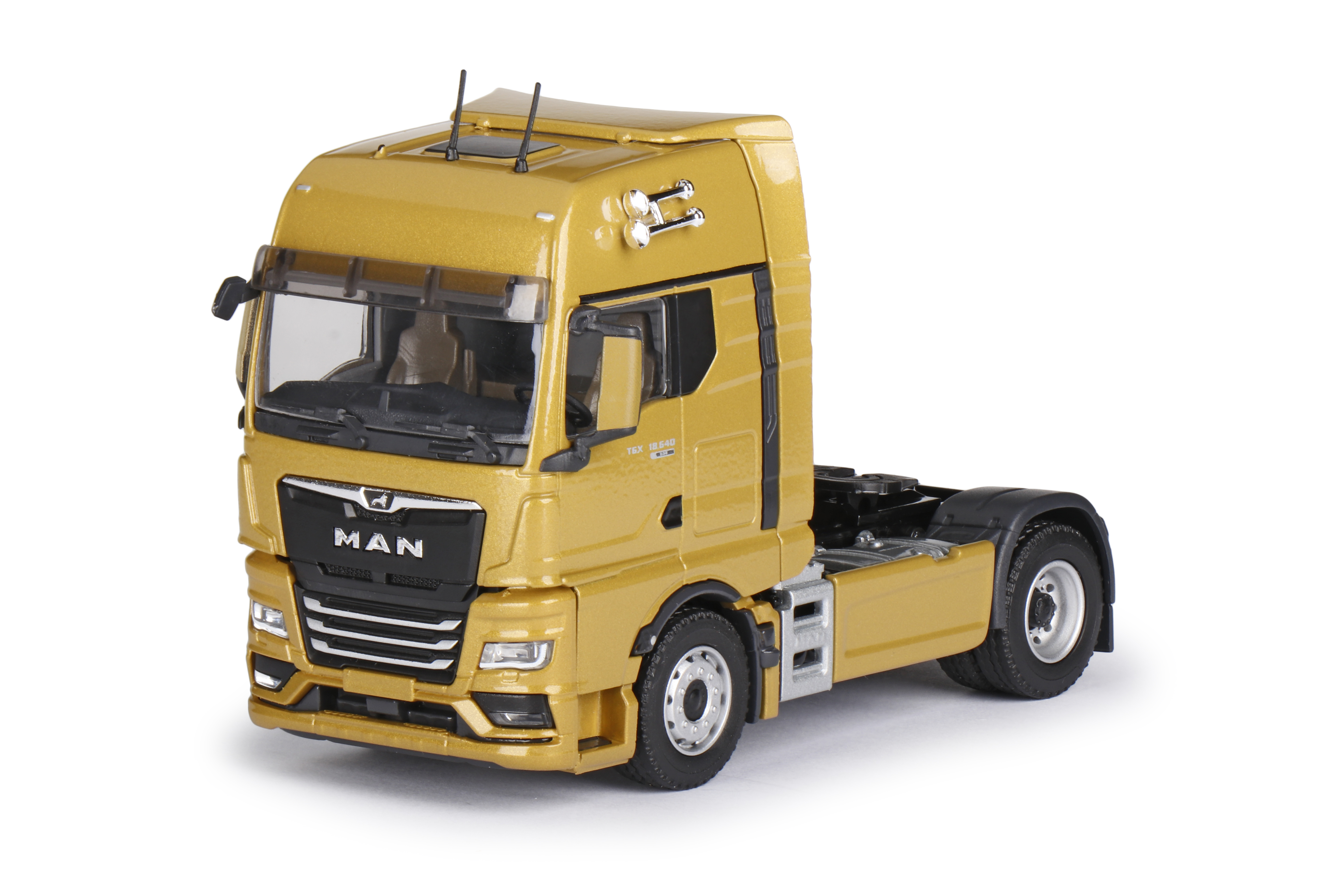 Well roared, lion - the new MAN Truck generation in 1:50