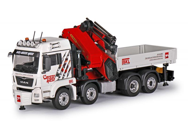 MAN TGS LX Euro 6 with PALFINGER crane