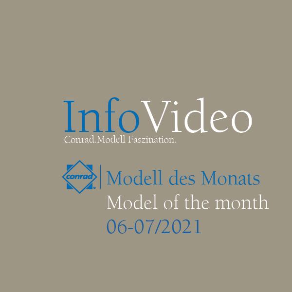 Video Modell des Monats Juni/Juli 2021